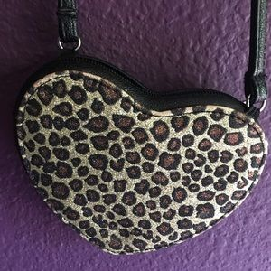 Girls Cheetah Print Purse